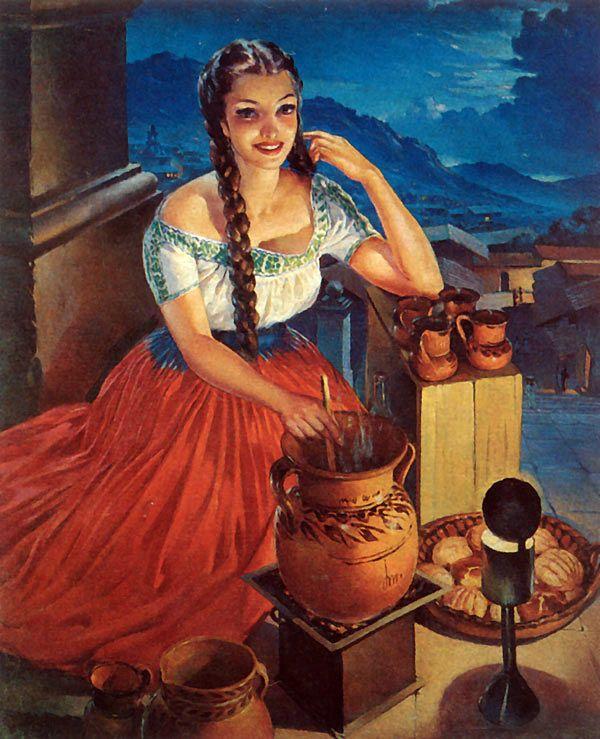 See mija, look at this picture. Si alguien dice que no te pareces Mexicana no es cierto! Show them this picture.