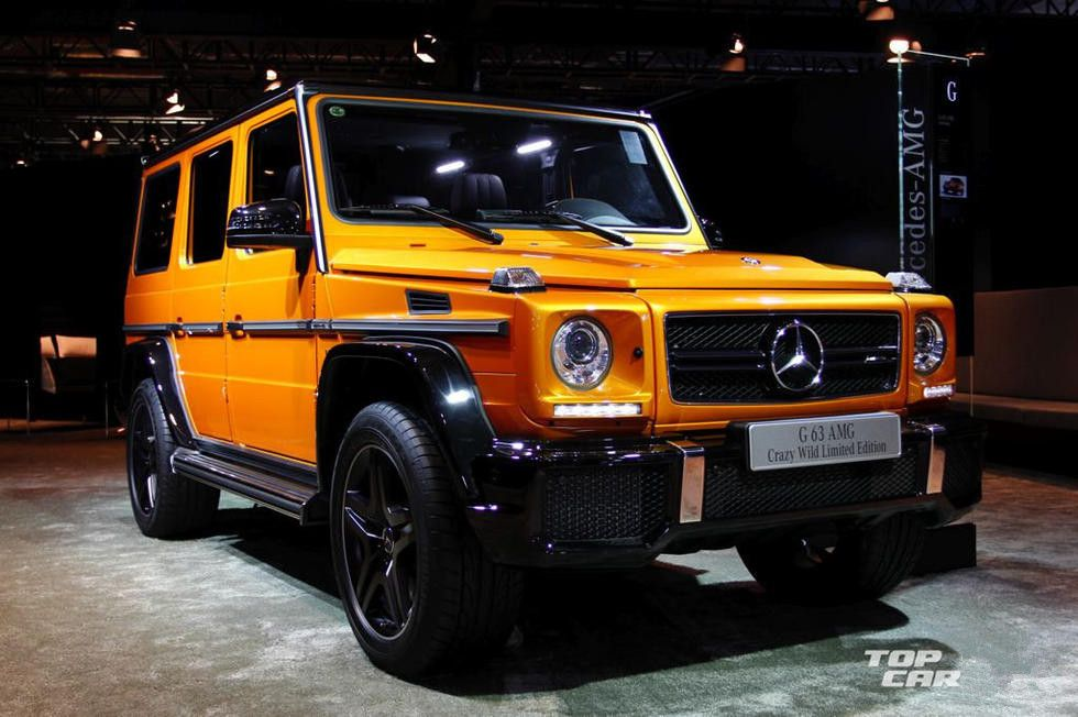 Mercedes Benz Amg G63 Special Edition Crazy Wild Limited Edition