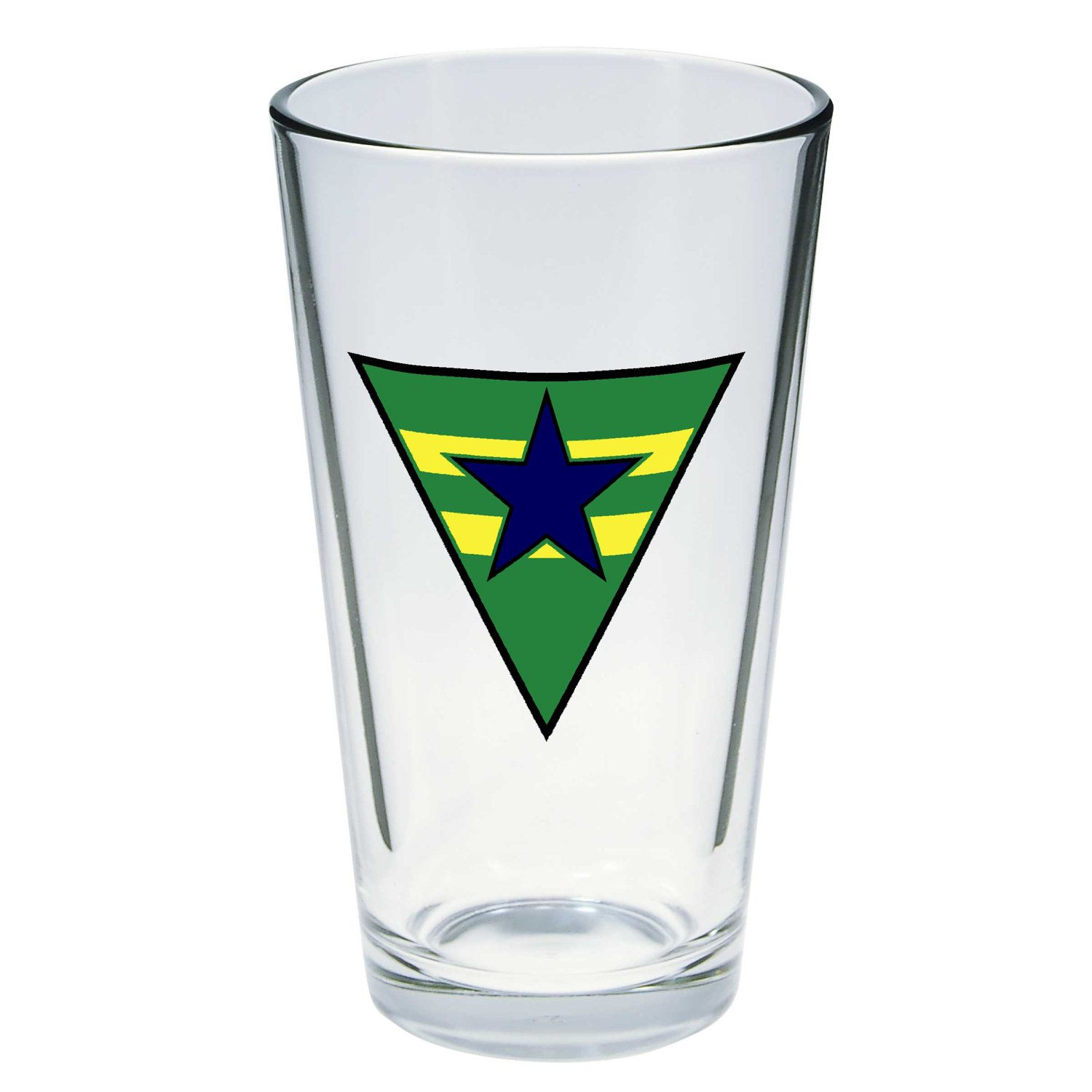 Browncoats Logo Pint Beer Glass Firefly Beer Glass Pint Of Beer Glass