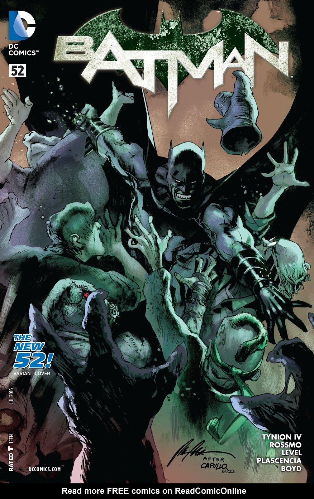 Batman (2011) Issue #52 by Rafael Albuquerque