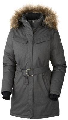 Manteau long femme columbia