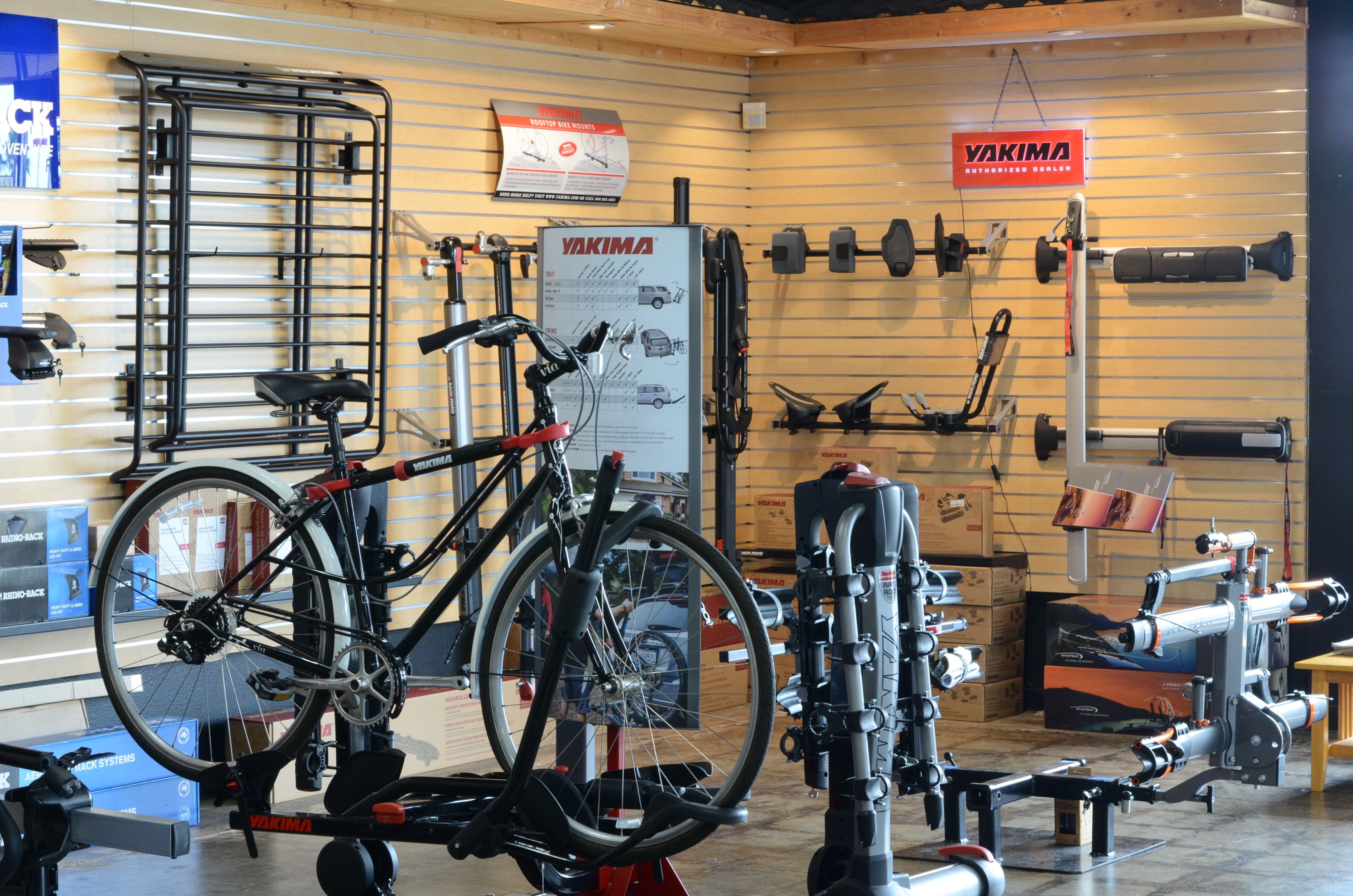Yakima Thule Racks For Car And Bike Car Racks Bike Trailer Hitch Bike