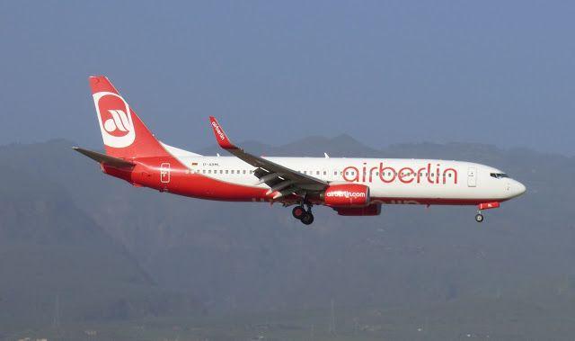 Canary Islands Spotting....Spotter: D-ABML   Air Berlin    Boeing 737-86J(WL)    LPA/G...