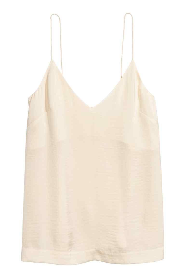 ottima vestibilità consegna veloce ineguagliabile nelle prestazioni Topje met V-hals   What to buy?   Encolure, Beige clair et Beige