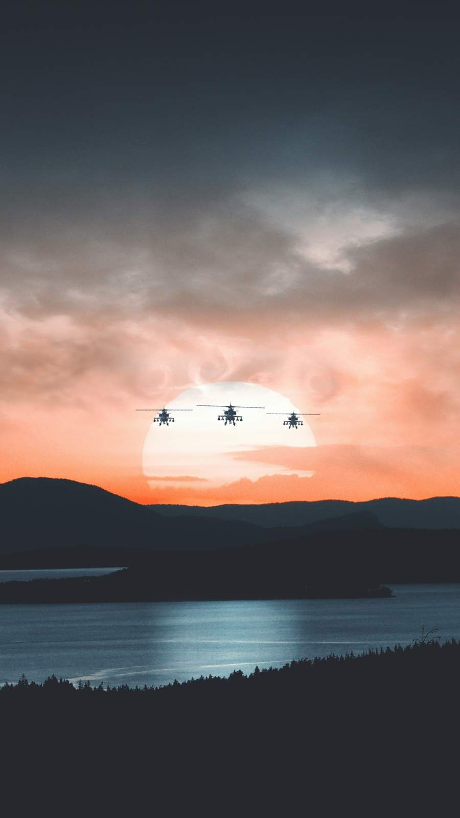 Apache Helicopter Trio Iphone Wallpaper Iphone Wallpaper Army Wallpaper Marvel Wallpaper
