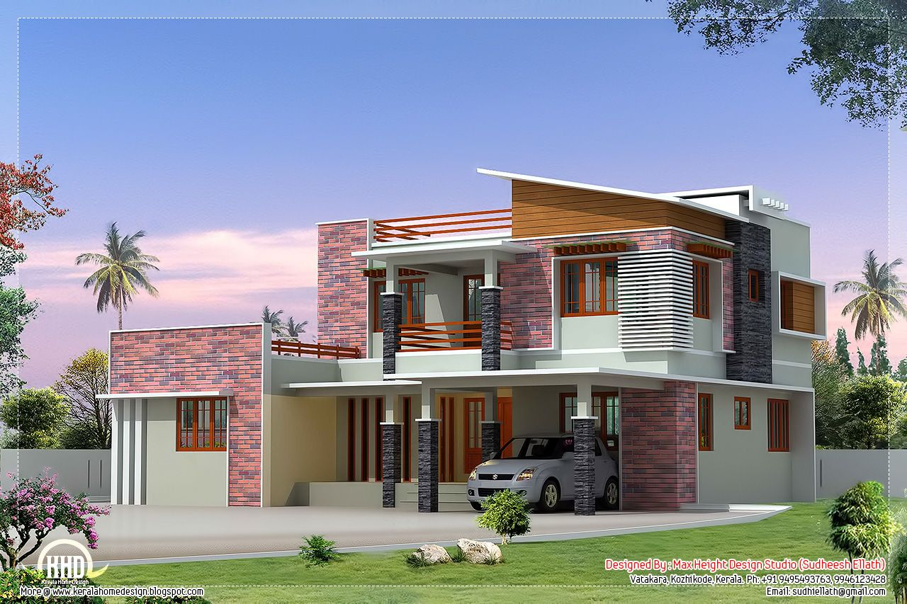 House Plans And Elevations In Kerala Beautiful Kerala Housing Plans Decor 2 Bedroom Small Floor Plan Ide Model House Plan Square House Plans Indian House Plans
