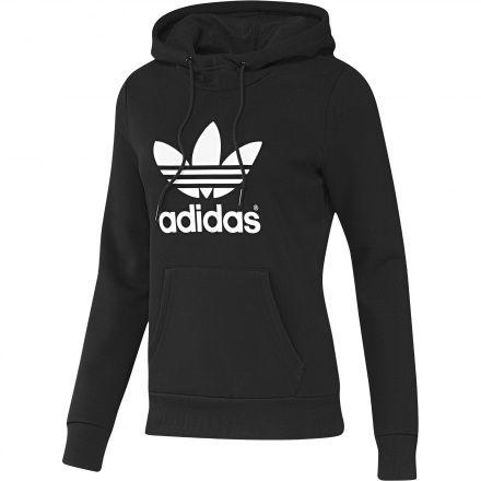 f7c76f19b3e Kadın Trefoil Hoodie Sweatshirt Adidas Trefoil Hoodie