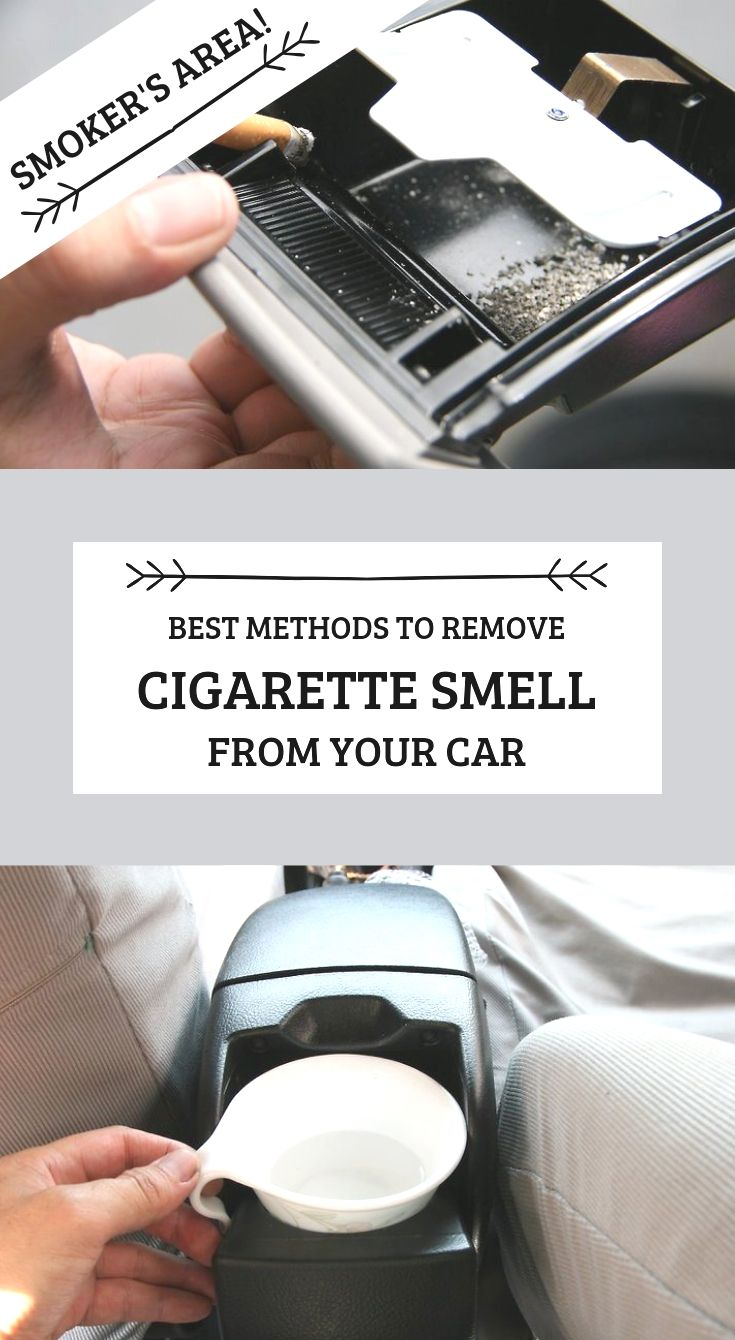 how to get rid of cigarette smell in car reddit