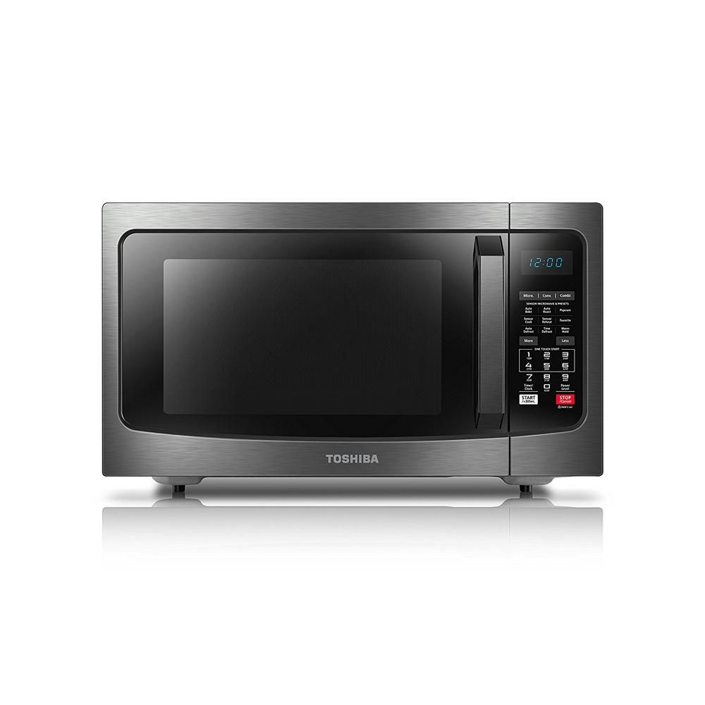 Stainless Steel Silver Convection Microwave Oven