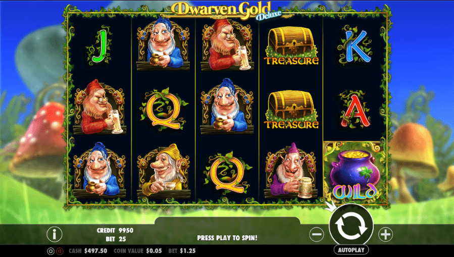 Spiele Dwarven Gold Deluxe - Video Slots Online