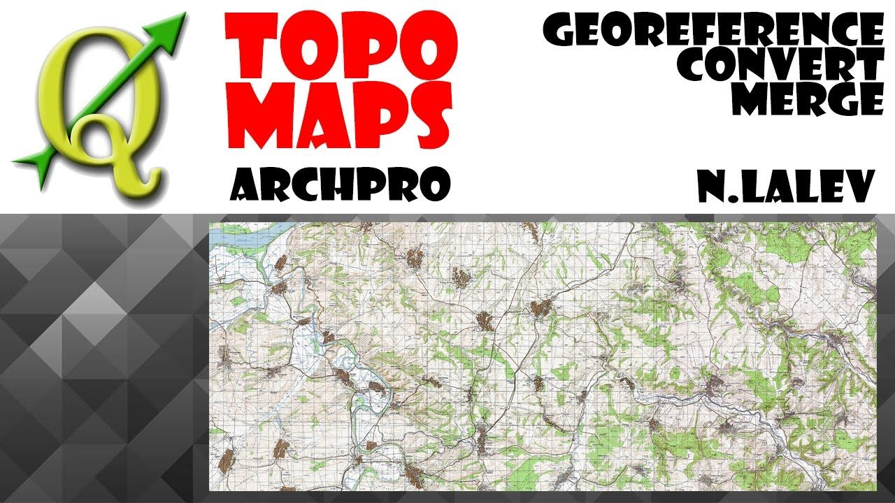 Georeference Convert Clip and Merge Rasters (QGIS 2 18