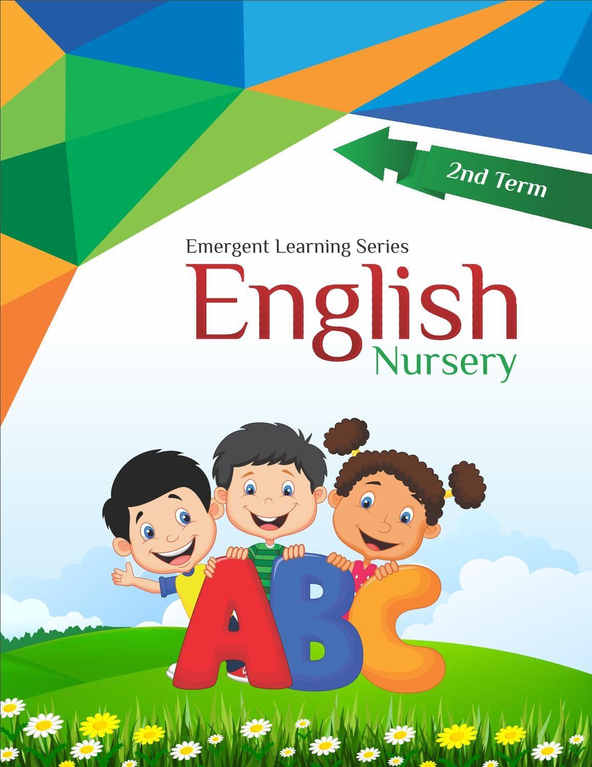 Nursery English 2nd Term Pdf English Books For Kids English Learning Books English Grammar Book Pdf