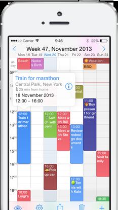 Week Calendar 7 Easy and powerful calendar management