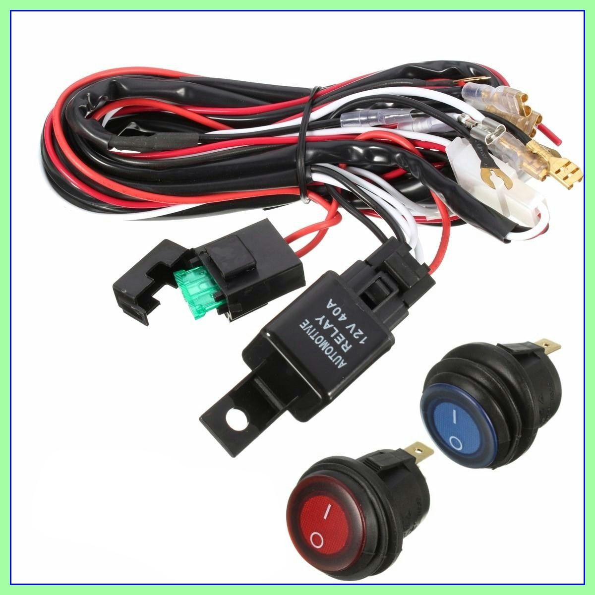 147 Reference Of Led Light Bar Wiring Harness In 2020 12v Led Lights Led Light Bars Bar Lighting