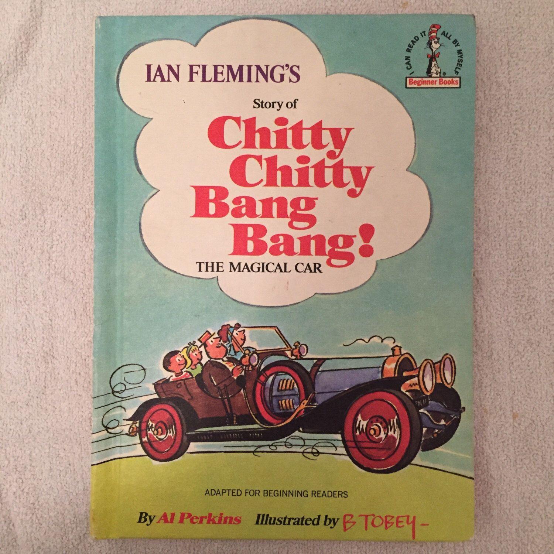 Vintage Chitty Chitty Bang Bang! The Magical Car Book   Bang bang ...