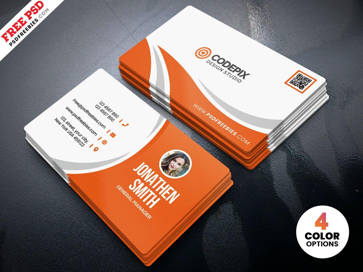 Simple Business Card Design Free Psdpsd Freebies On Dribbble Inside Crea Free Business Card Design Business Card Design Simple Business Card Template Photoshop