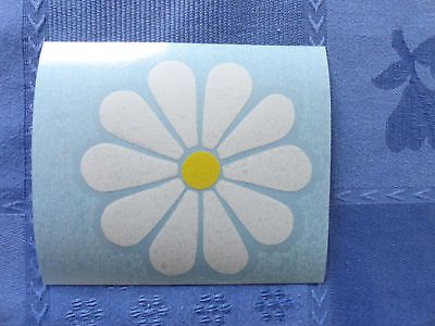 Retro 60s Flowers # 5 Die Cut Vinyl Car Window Decal Bumper Sticker US Seller