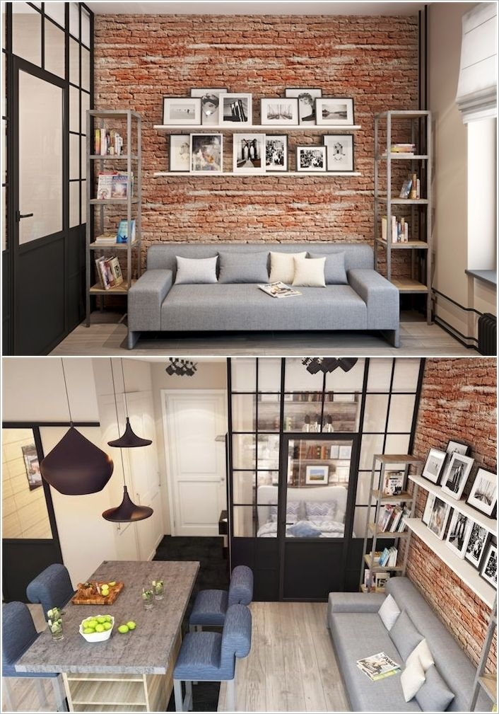 Genial 10 Incredible Ideas To Decorate And Spice Up A Brick Wall   Home Decor And  Design
