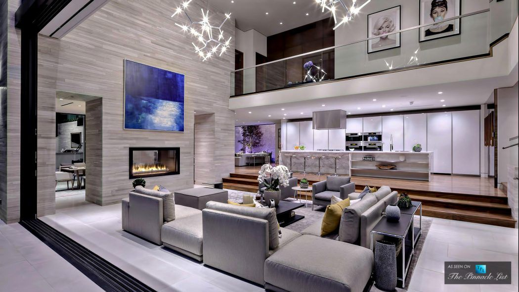 Luxury House In Los Angeles Luxury Modern Homes Modern Luxury Interior Modern House Design