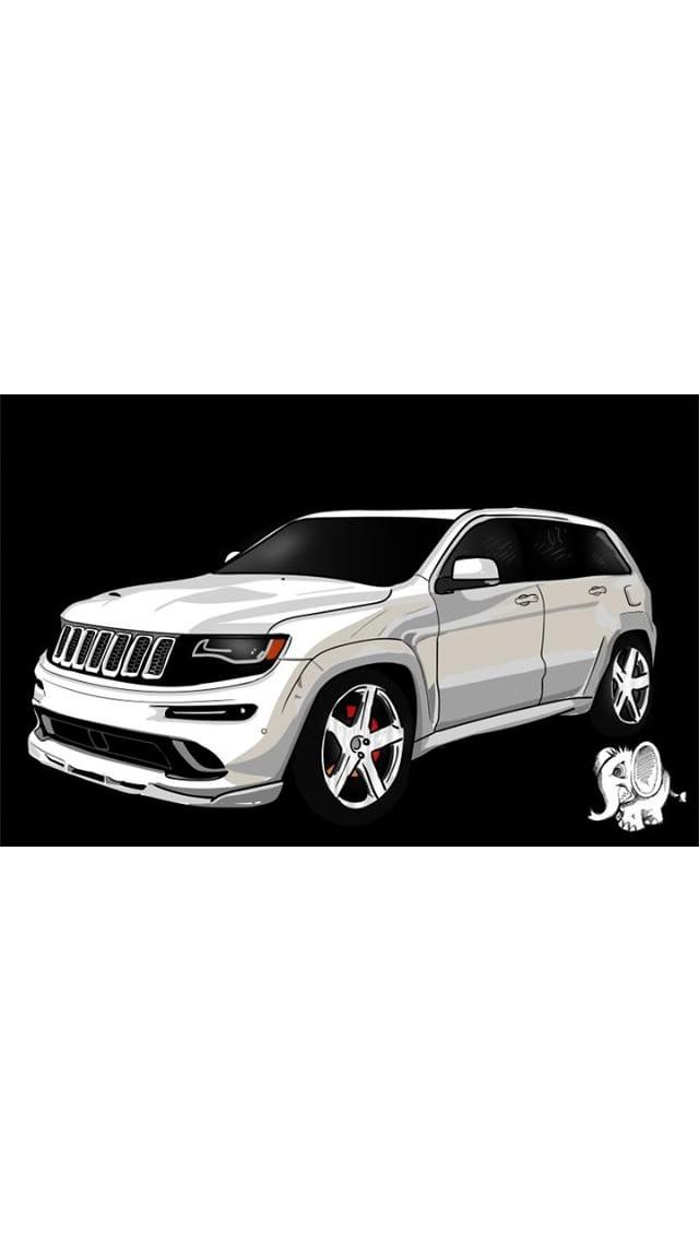 Jeep Grand Cherokee Srt Srt 8 Wk2 Mopar Hemi 7 0 426 Stroker N A