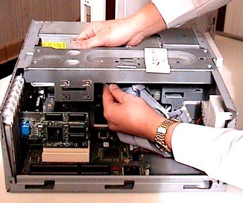 a routine computer maintenance