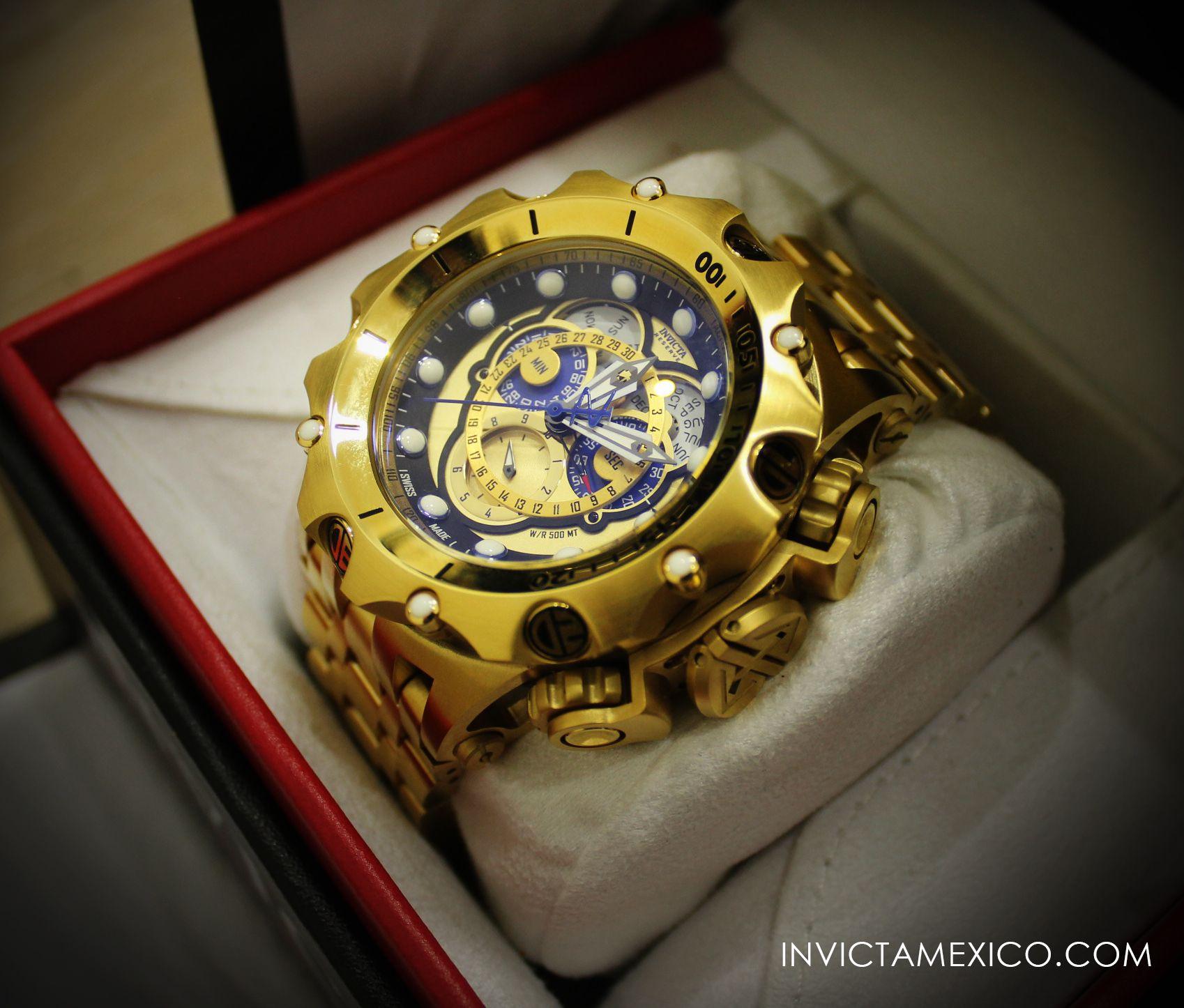 mejor baratas 3e3a3 534e0 Pin de frederick en relojes | Reloj invicta, Reloj y Acero ...