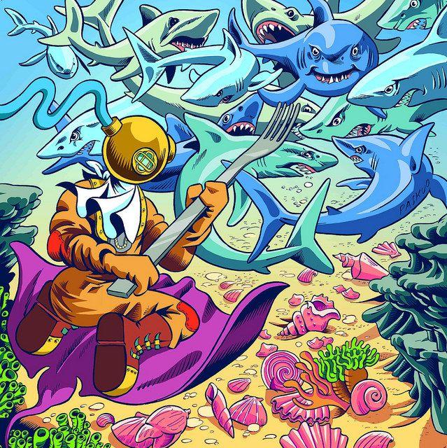 Daniele Pasquetti (mail: danielepasquetti1@gmail.com) #shark #manta #palombaro #deepseediver #shell #conchiglia