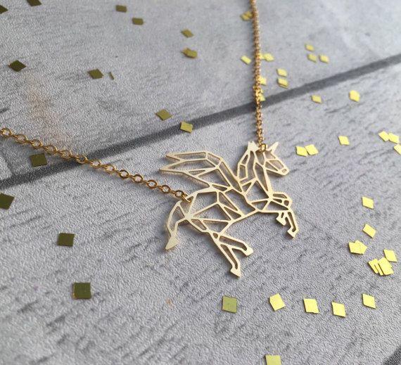 Collier Licorne Bijoux Fantaisie Colliers