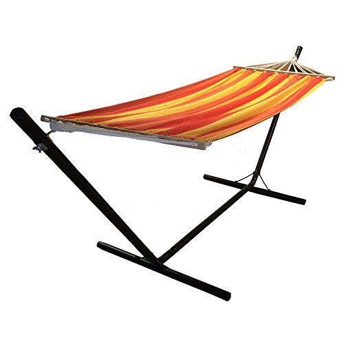 Redstone Garden Hammock And Stand   Huge 6ft 10in Hammock Length Redstone  Outdoors Http:/