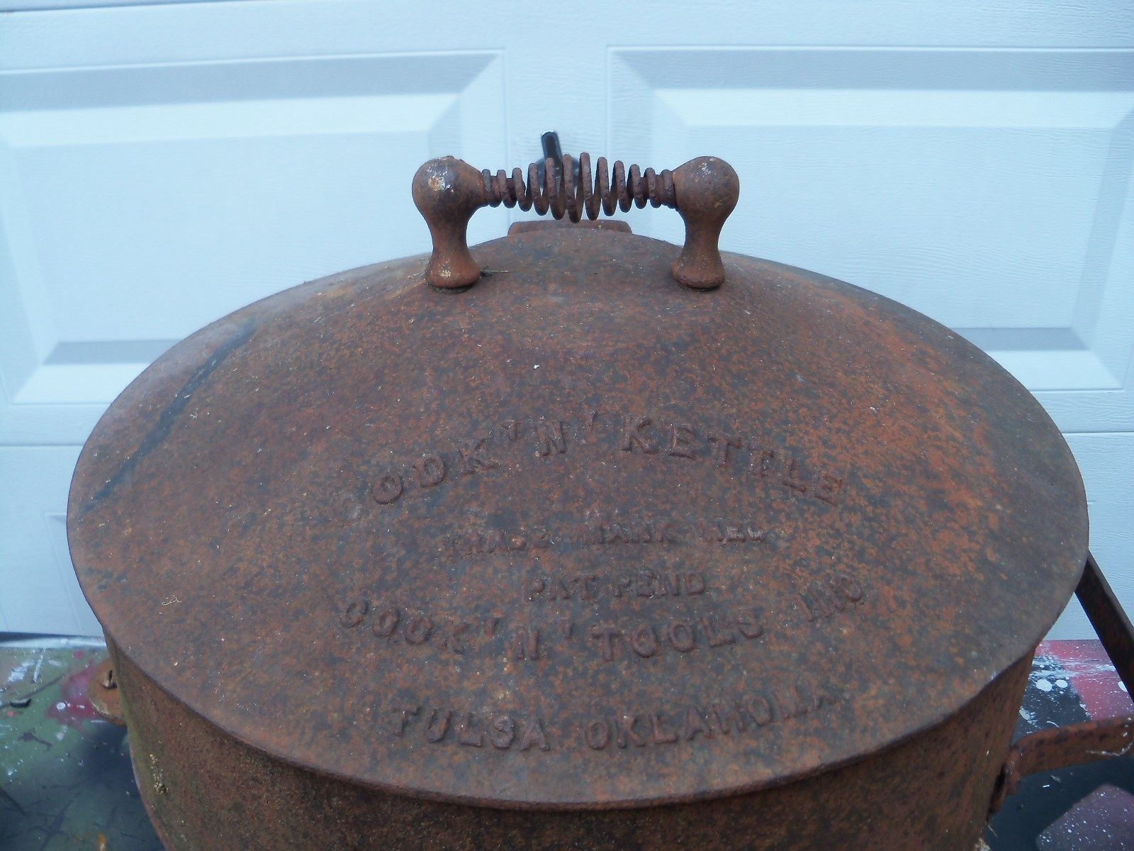 grill Vintage cooking cast iron