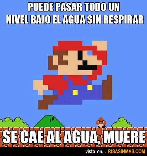 Logica De Mario Bros Memes Funny Memes Mario