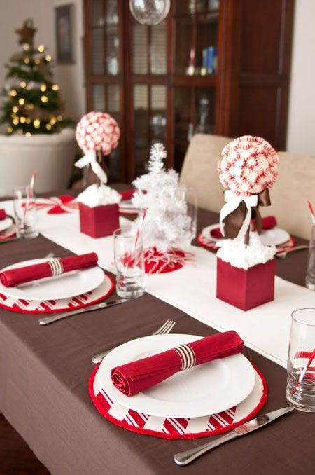 decoration de noel 2018 table Déco de Noël 2018 : 101+ idées pour la décoration de Noël | NOËL  decoration de noel 2018 table