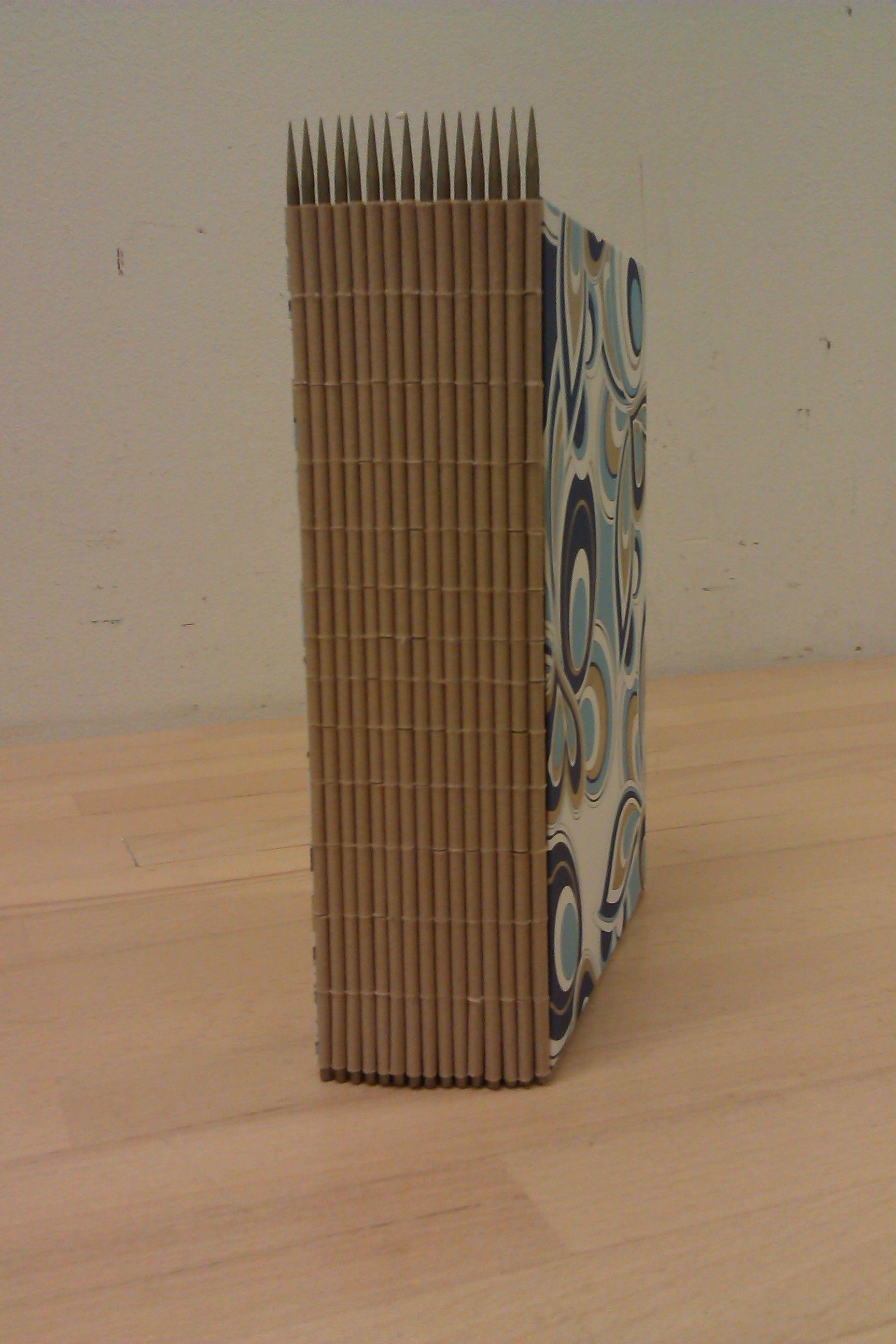 Koppermaandag 2014 Asta S Ogen Eveline Stoel Piano Hinge Binding Handmade Books Book Art Bookbinding