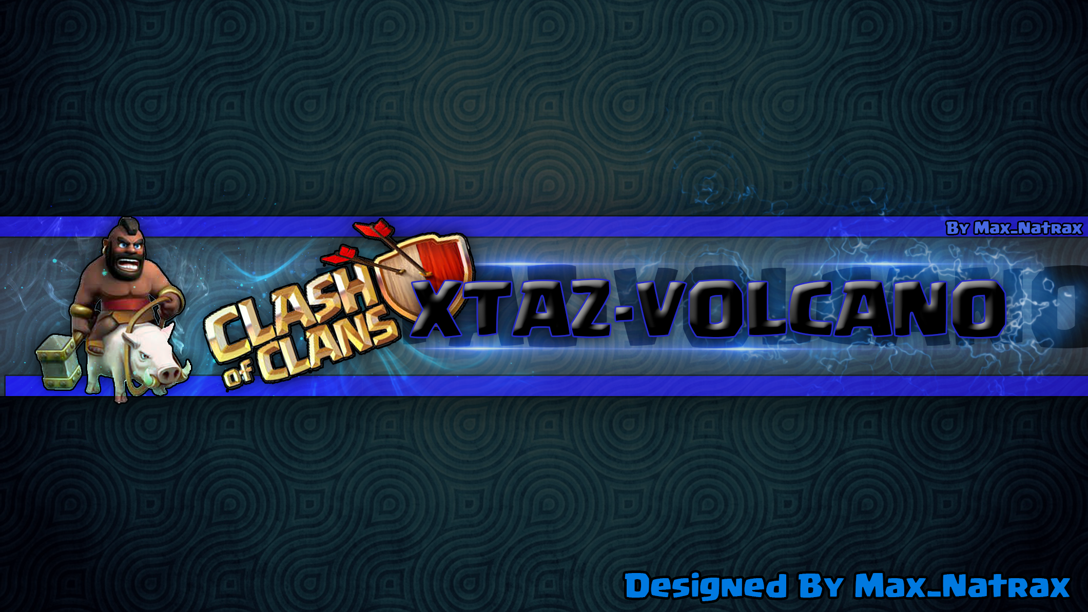 Banner for Wtaz-Volcano ! Clash of Clans theme
