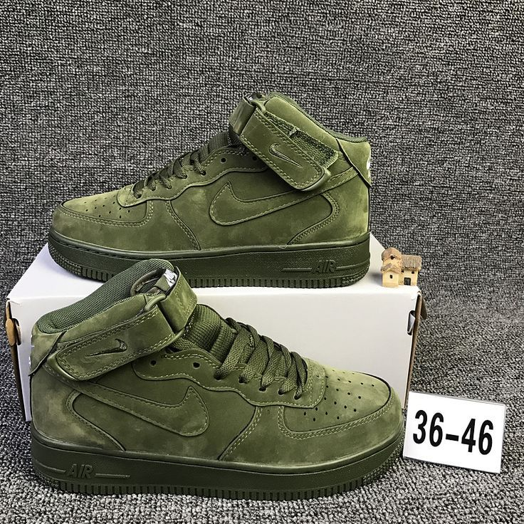 Nike Air Force 1 Mid High Olive Green Zapatos zapatillas
