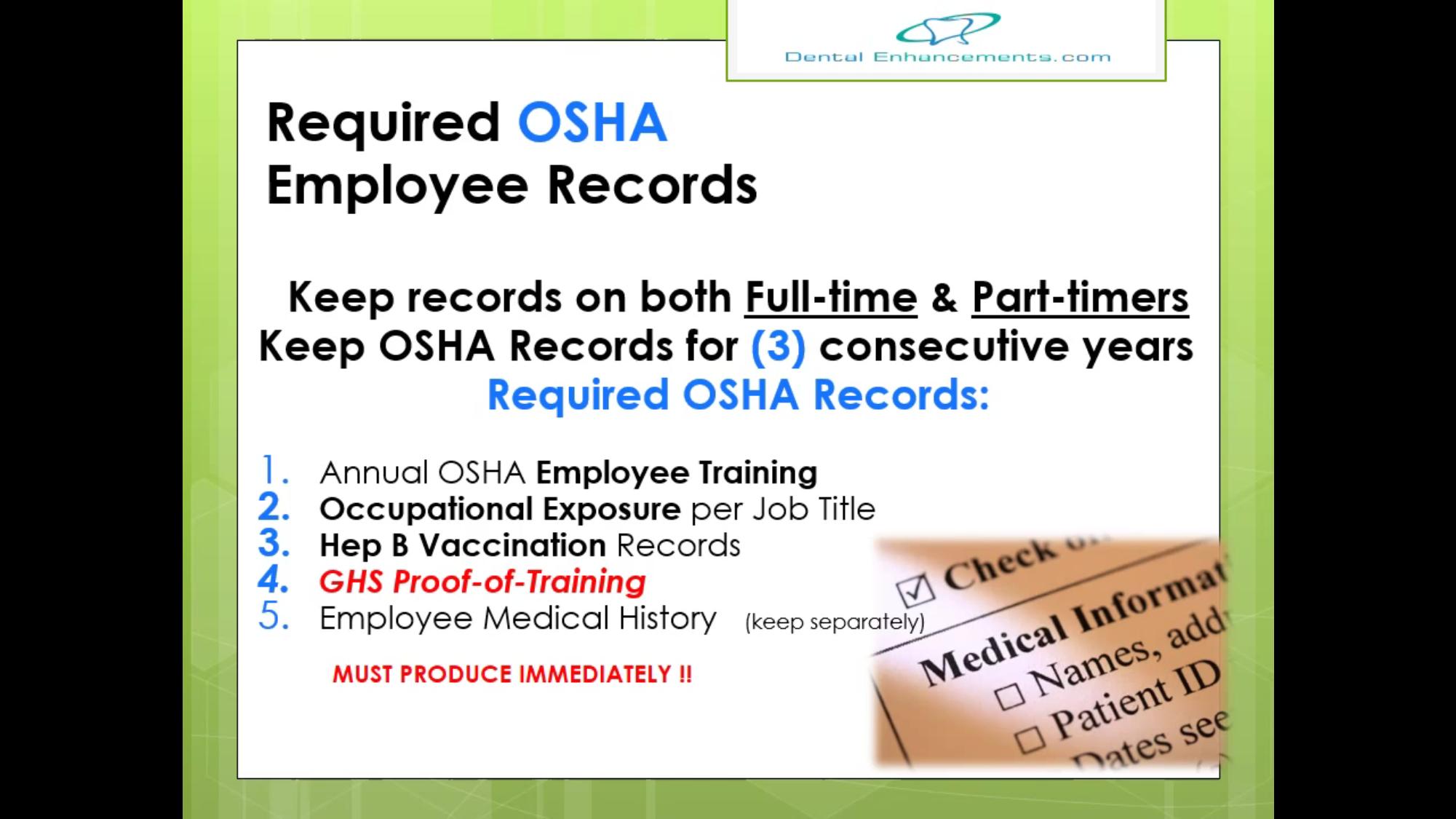 Pin by Kim Alford on OSHA/HIPAA Compliance Employee