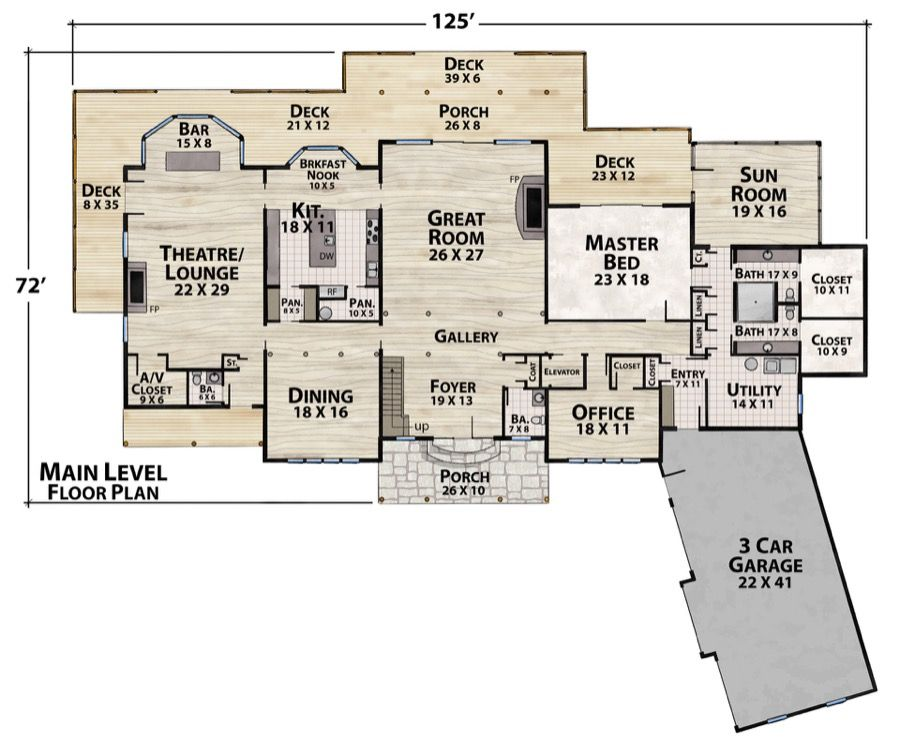 Lake Tower Plan Details Stone Houses Lake House How To Plan
