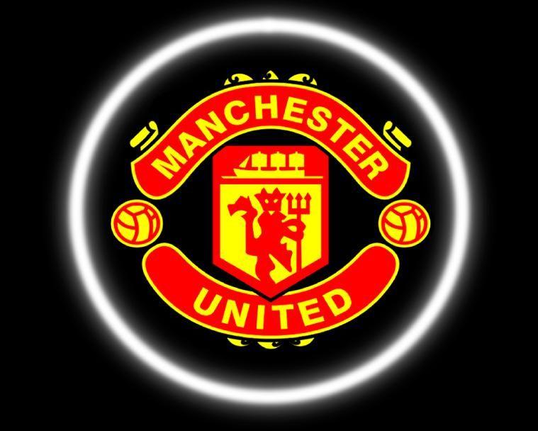 2 Wireless Led Laser Manchester United Car Door Lights The Unit Lighting Logo Laser Lights Projector
