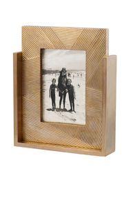 Rectangular Combed Brass Frame  #kellywearstler #brass #frame