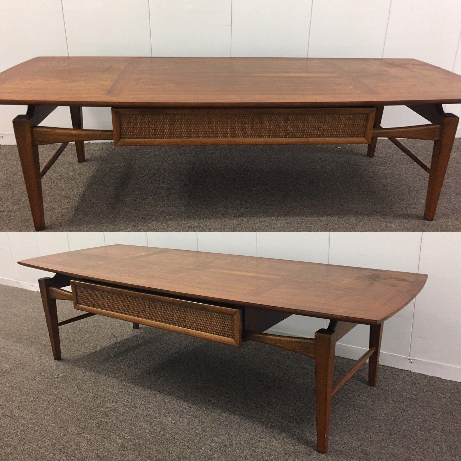 Walnut Mid Century Coffee Table By Lane Esteem Collection Surfboard Mcm 1960s Ebay Mid Century Coffee Table Coffee Table Coffee Table Design [ 1600 x 1600 Pixel ]
