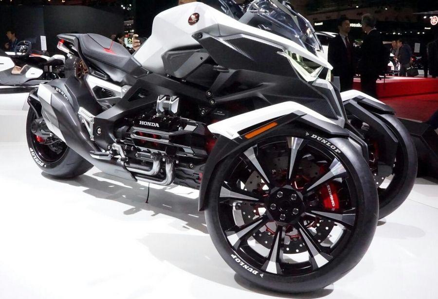 Honda Neo Wing New 2017 Trike 3 Wheel Motorcycle Goldwing Cousin 3 Wheel Motorcycle Trike Motorcycle