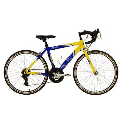 Gmc Boy S Denali 24 Road Bike Blue Yellow Kids Road Bike