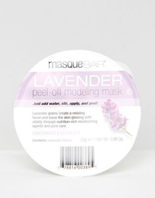 Photo of MasqueBAR Lavender Modeling Face Mask | ASOS