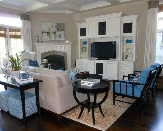 Family Room Furniture Placement Around Corner Fireplace Design Pictures Remodel Decor And Ideas