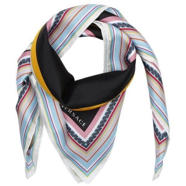 bb6b5de70b38 Versace Scarves   Caps - Foulard-Carre Multicolor - in colorful ...