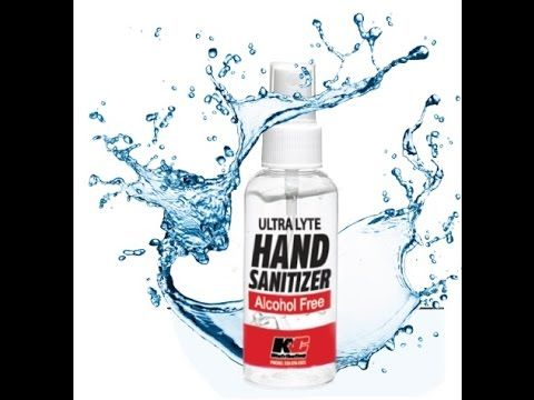 Alcohol Free Hand Sanitizer Ultra Lyte Hand Sanitizer Alcohol