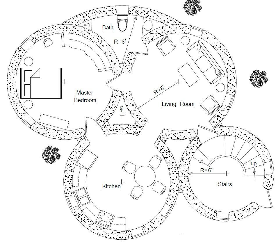 Earthship plans and designs pictures - Too Small But Cute Home Planshouse Designfloor
