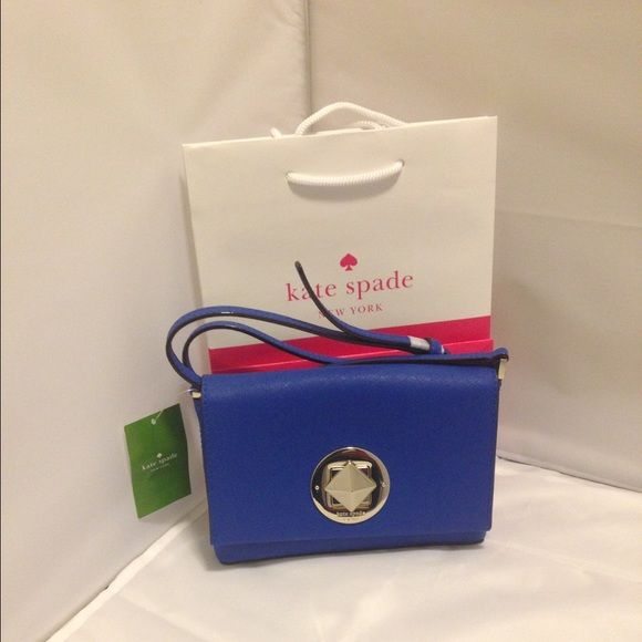 Kate spade cross body Authentic Orbit blue Kate Spade cross body -size 7x5 kate spade Bags Crossbody Bags