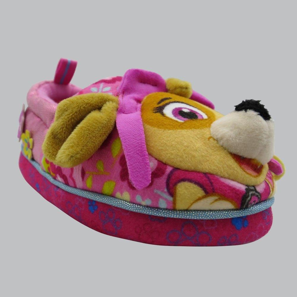 11af1e4d7191 Toddler Girls  Skye Paw Patrol A-line Slipper - Pink