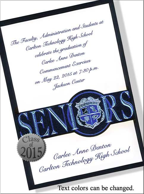 High School Graduation Invitations Wording Graduation